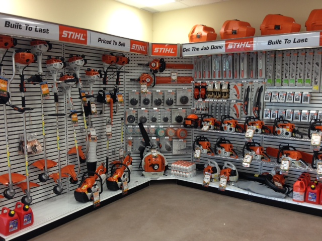 Stihl Display Wheatfield